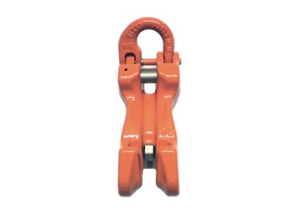 CLEVIS GRAB HOOK WITH SEMI-CLIP